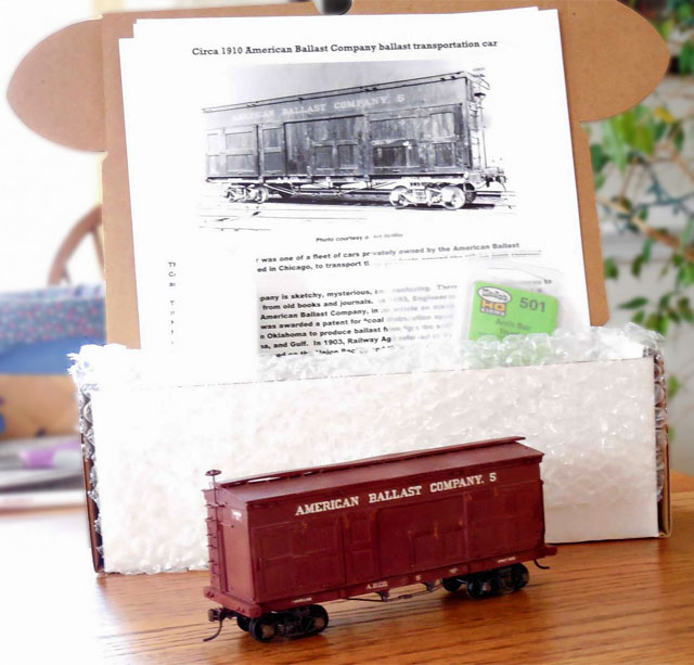BCW Boxes are perfect for model trains