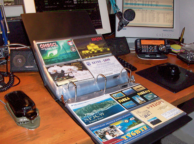 Collecting Amateur Radio QSL Cards