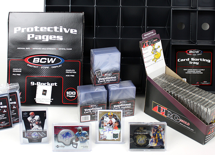 Just a few of the prizes in the 2014-2015 BCW Supplies League of the NFL Weekly Pick'em
