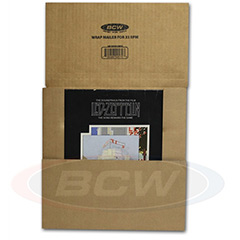 BCW 33RPM Record Mailer