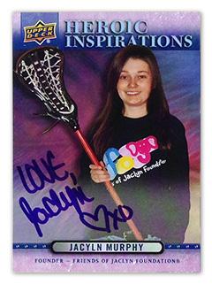 Upper Deck Heroic Inspirations Jaclyn Murphy Card