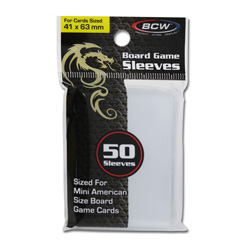 BCW Mini American Card Sleeves
