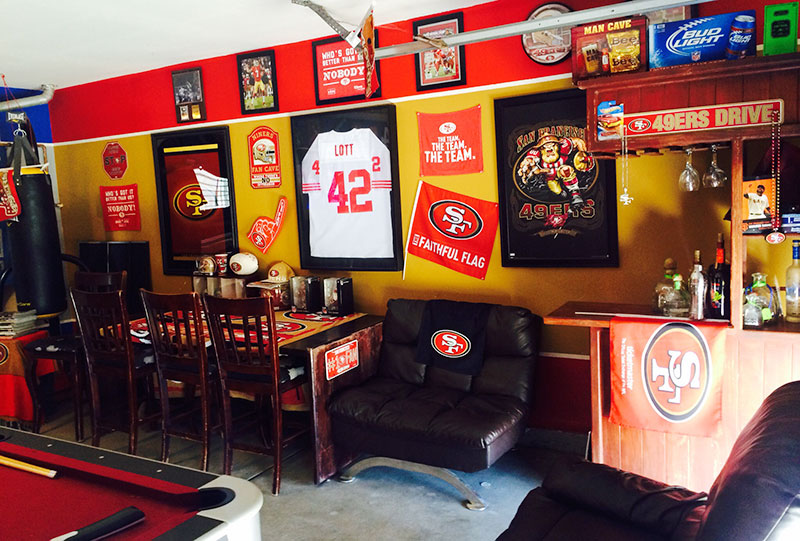 great garage sale ideas - 2015 Fan Cave Contest Winner and Honorable Mentions