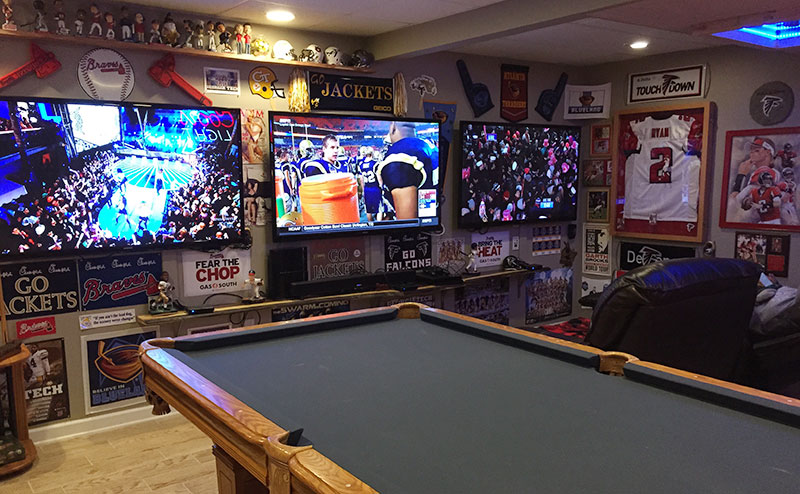 Ultimate man cave!