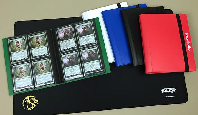 BCW 4-Pocket Page Pro-Folios