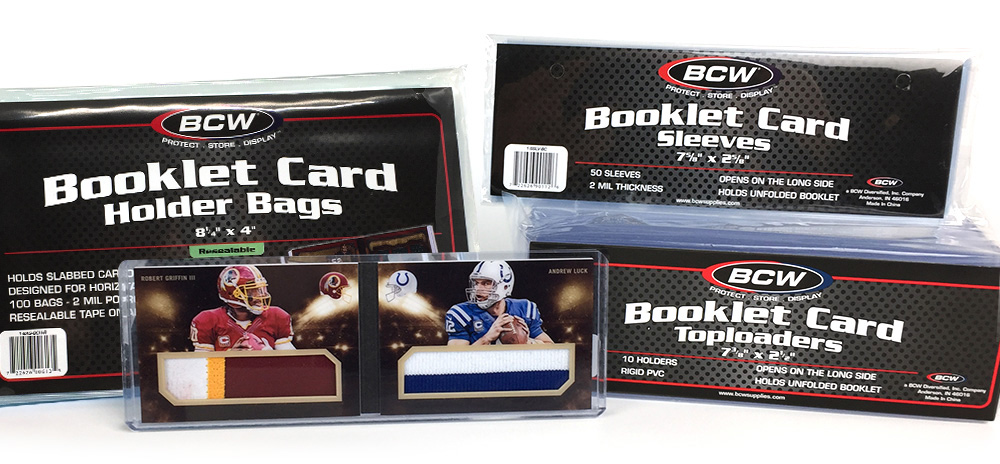 Horizontal Booklet Card Supplies