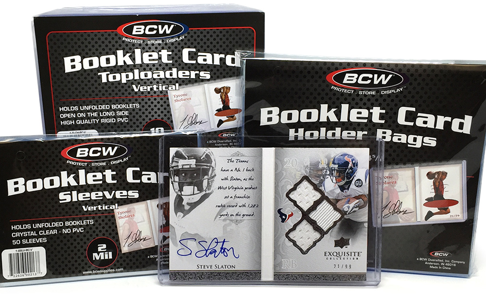 Vertical Booklet Card Supplies