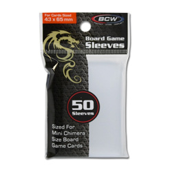 BCW Mini Chimera Card Sleeves