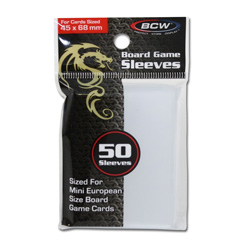 BCW Mini European Card Sleeves