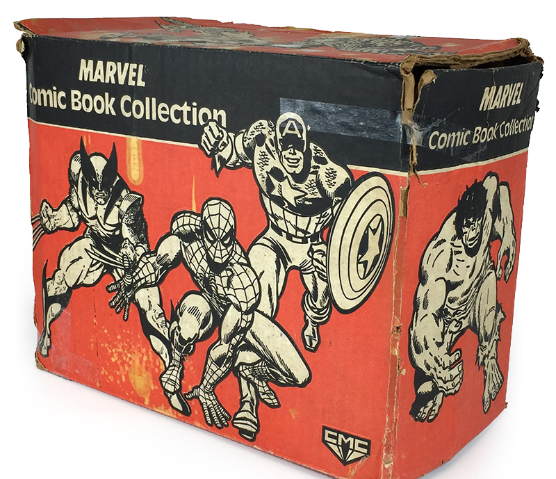 Marvel Comic Book Collection Box, Collectors Marketing Group, 1989