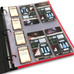 Armada pages in binder