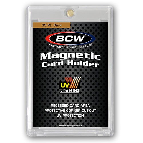 35 pt. Magnetic Card Holders