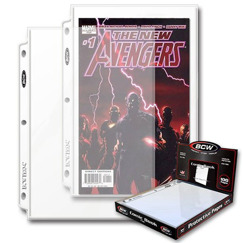 3-Ring Binder Comic Pages