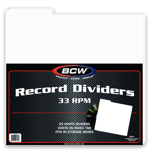 33 RPM Record Dividers