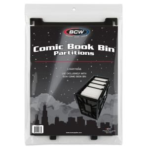 SHORT COMIC BOOK BIN PARTITIONS