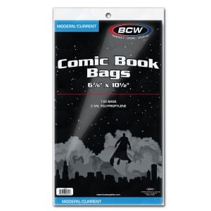 Resealable Bags and Backing Boards Dividers BCW Starter Comic Book Storage Kit Storage Box