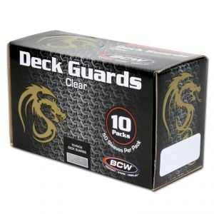 DECK GUARDS - CLEAR