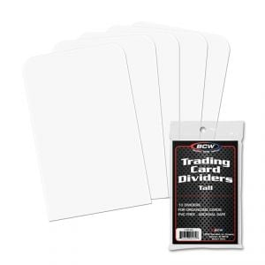TALL TRADING CARD DIVIDERS