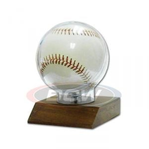 WOODBASE BASEBALL HOLDER