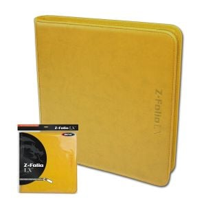 Z-Folio 12-Pocket LX Album - Yellow