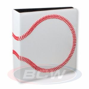 3 in. Album - Baseball Collectors Album - Premium White