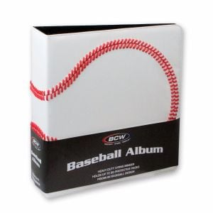 3 in. ALBUM - BASEBALL COLLECTORS ALBUM - PREMIUM - WHITE