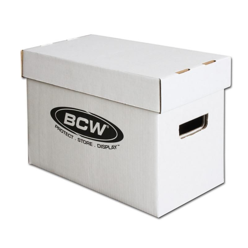 Great Price! NEW Max Pro 11 Short Comic Book Storage Boxes Cardboard
