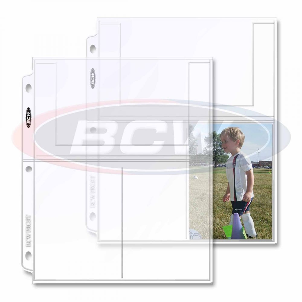 BCW PRO 1-POCKET COMIC PAGES 20 CT. PACK