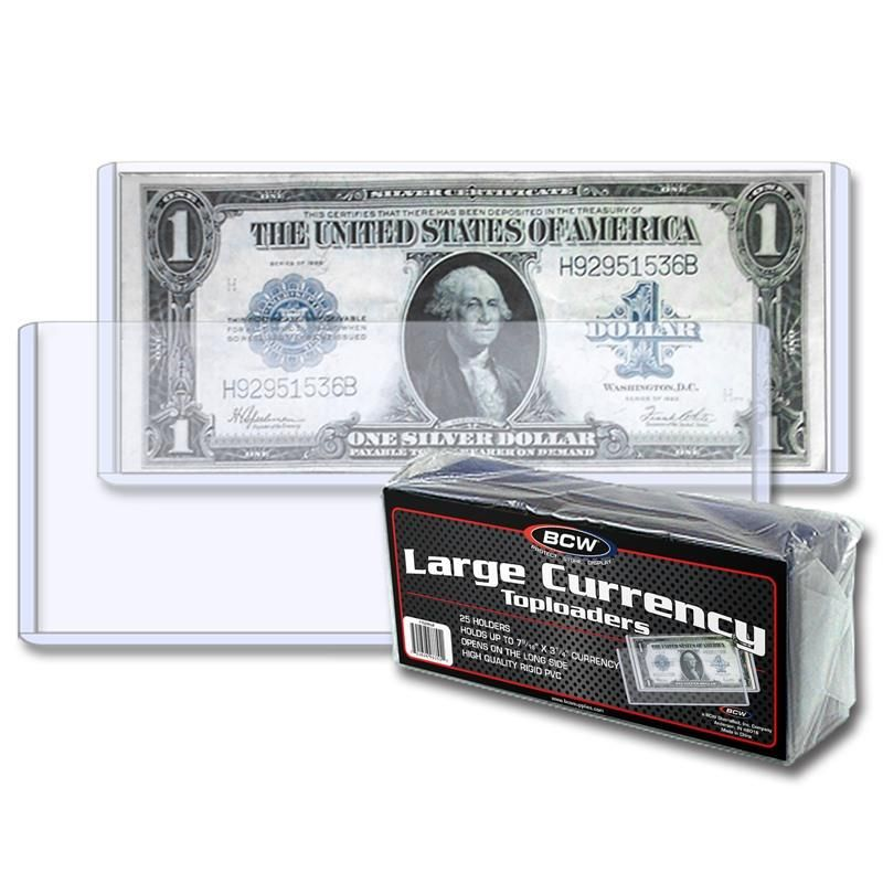 Large Bill Deluxe Currency Slab 1