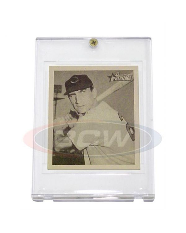 Trading card holders 1948 1950 bowman card 1 screw holder 5 year uv reheart Gallery