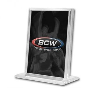 ACRYLIC CARD STAND - VERTICAL