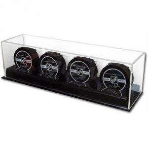 ACRYLIC 4 HOCKEY PUCK DISPLAY