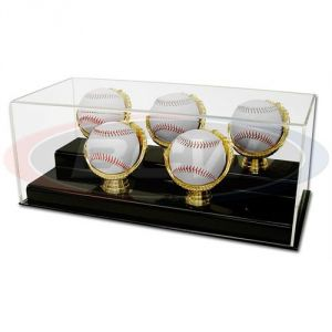 ACRYLIC 5 GOLD GLOVE BASEBALL DISPLAY **LIMITED STOCK**