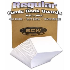 BULK REGULAR COMIC BACKING BOARDS