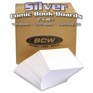 BULK SILVER COMIC BACKING BOARDS