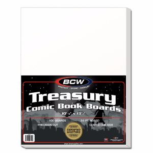 TREASURY BACKING BOARDS