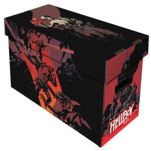 SHORT COMIC BOX - ART - HELLBOY IN HELL