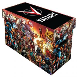 SHORT COMIC BOX - ART - VALIANT UNIVERSE