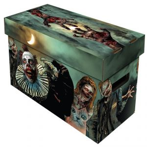 SHORT COMIC BOX - ART - ZOMBIES***LIMITED STOCK***