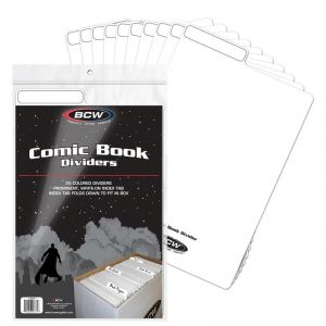 COMIC BOOK DIVIDERS - WHITE