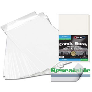 PREMADE RESEALABLE CURRENT COMIC BAG AND BOARD