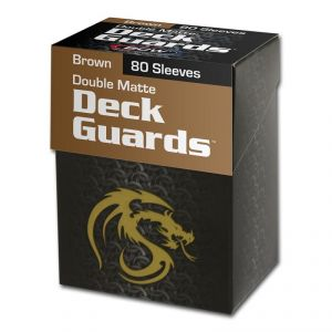 DECK GUARD - 80 BOXED - MATTE - BROWN