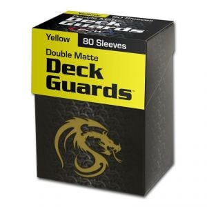 DECK GUARD - 80 BOXED - MATTE - YELLOW