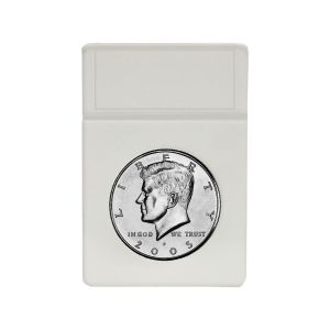 DISPLAY SLAB INSERTS - HALF DOLLAR - WHITE