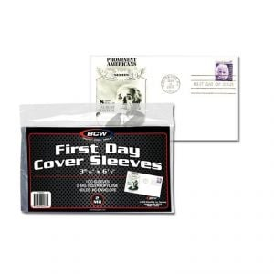 FIRST DAY COVER SLEEVES