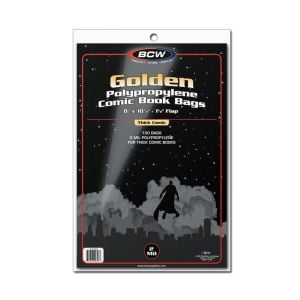 GOLDEN COMIC BAGS - THICK