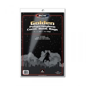 GOLDEN COMIC BAGS