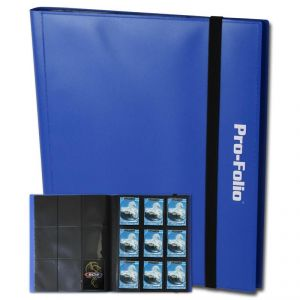 PRO-FOLIO 9-POCKET ALBUM - BLUE