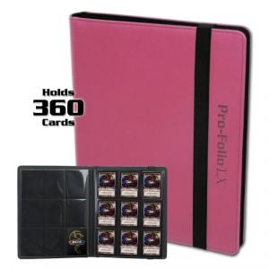 PRO-FOLIO 9-POCKET LX ALBUM - PINK