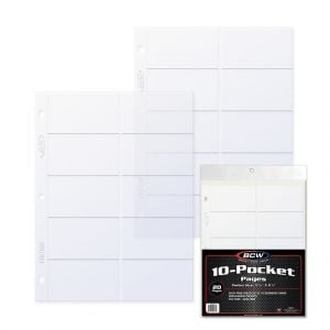 PRO BUSINESS CARD PAGE - 10-POCKET